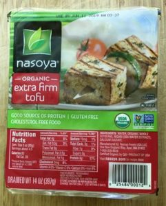Nasoyo Extra Firm Tofu is a fairly common brand that is good quality and will give you good results.