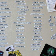 DIY Refrigerator Magnet Band Name Generator